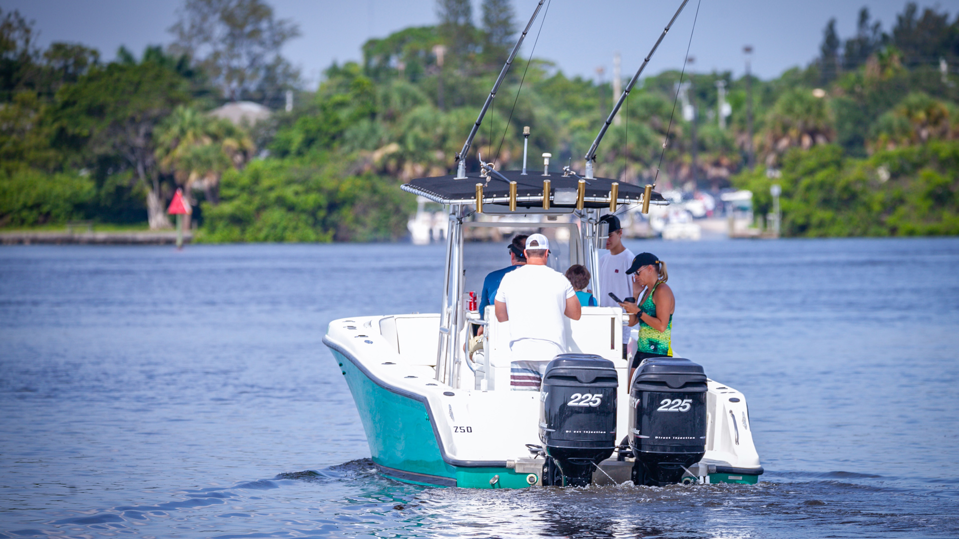 Boaters Departing Riverwatch Marina