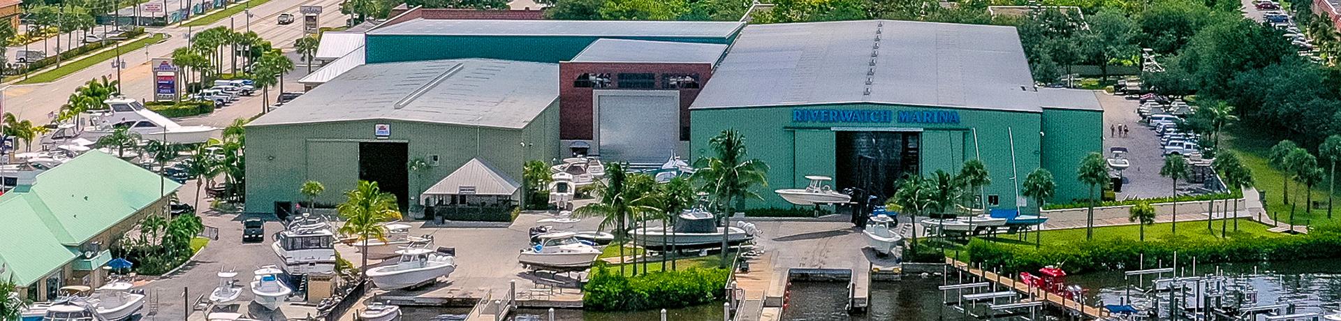 Riverwatch Marina Aerial View