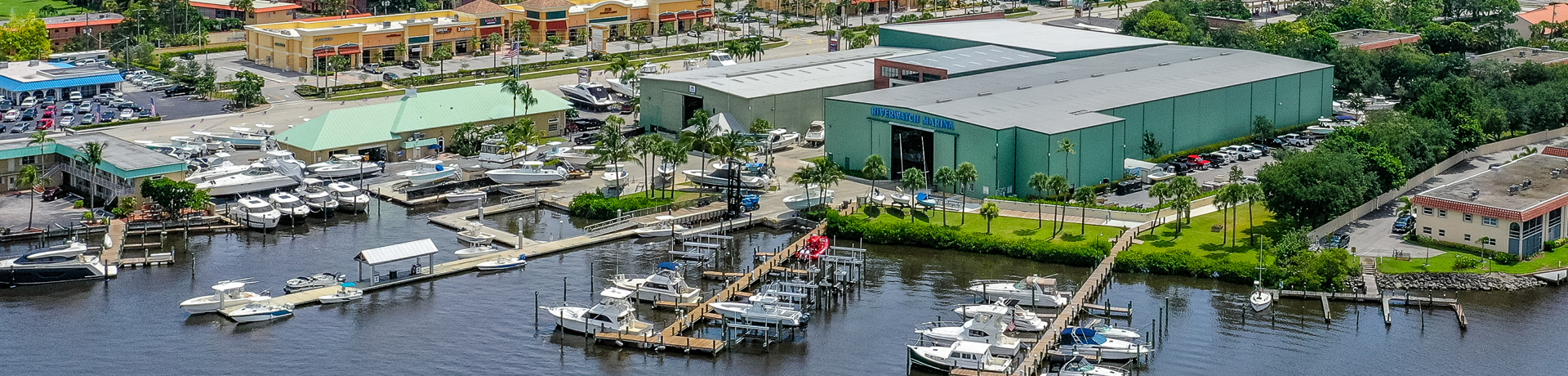 Riverwatch Marina Aerial View
